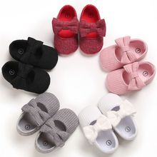 Baby Girls Cotton Shoes Retro Spring Autumn Toddlers Prewalkers Cotton Shoes Infant Soft Bottom Firs