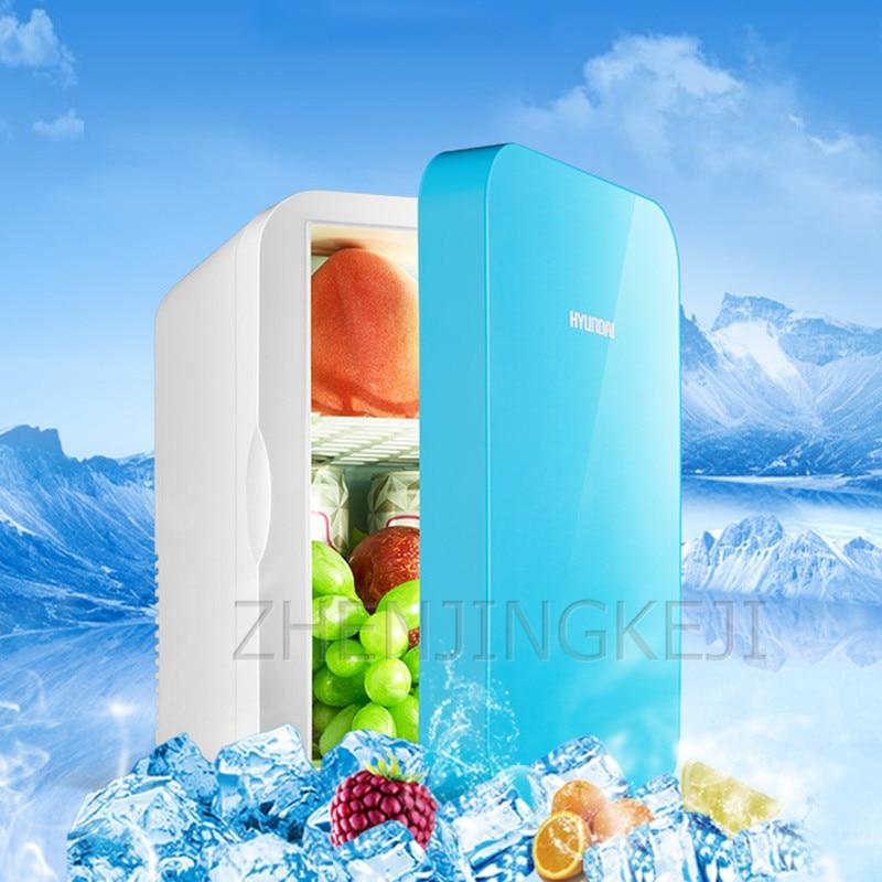 6 л холодильник для домашнего использования автомобильный холодильник небольшой бытовой морозильник замороженные приборы 220 В Ho использов...