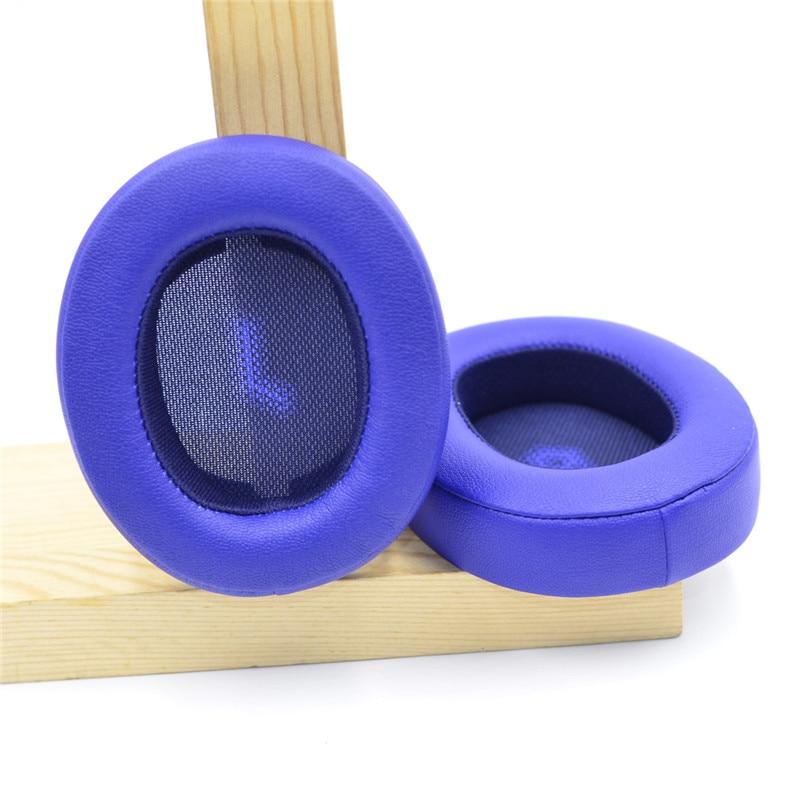 Replacement Cushion Ear Pads for JBL E55 E55BT E 55 bt Bluetooth Wireless Headsets Accessories Memory Foam Ear Cushion Ear Cups