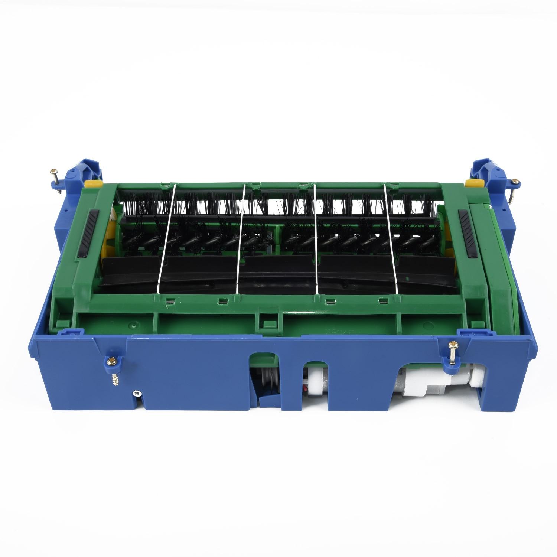 وحدة رأس تنظيف فرشاة الأسطوانة الرئيسية مع محرك لـ IRobot Roomba 500 ، جميع السلسلة ، 527 ، 510 ، ملحقات المكنسة الكهربائية
