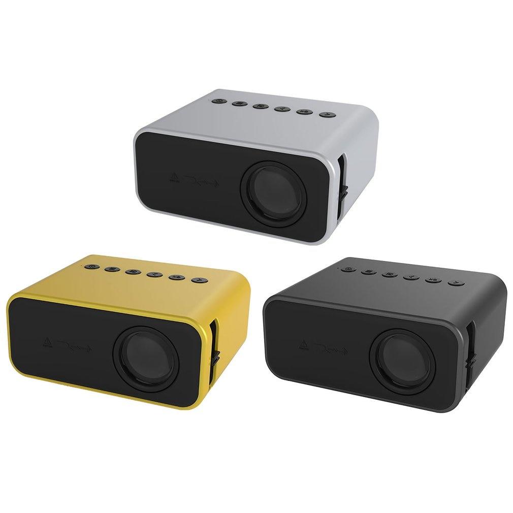 YT500 العارض مع السلكية نفس شاشة عالية السرعة صورة رئيس المحمولة جهاز عرض (بروجكتور) ليد المنزل وسائل الاعلام مشغل فيديو الأبيض
