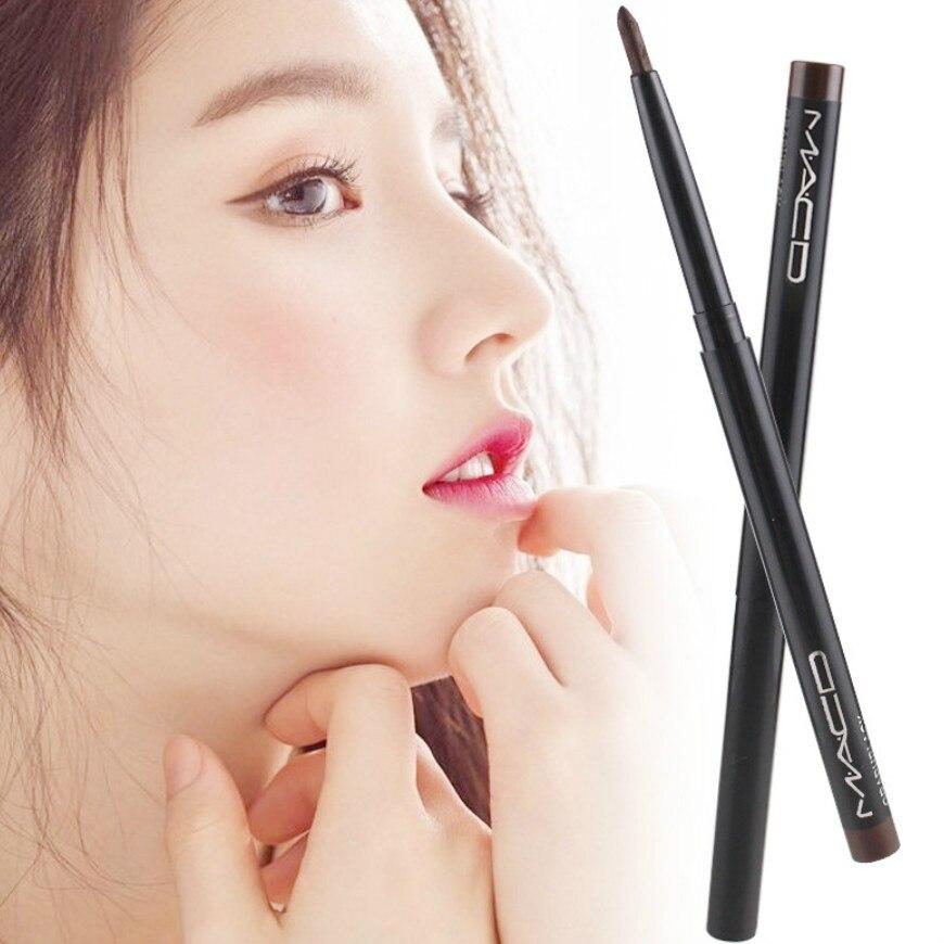 1 Pcs/SELL Fashion Black Long Lasting Eye Liner Pencil Waterproof Eyeliner Smudge-Proof Cosmetic Sexy Brown Beauty Eyes Makeup