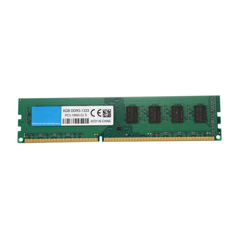 Sobremesa DDR3 DIMM 8GB 1333Mhz memoria RAM PC3-10600 AMD memoria dedicada doble cara de partículas 1,5 V 240Pin memoria sin búfer