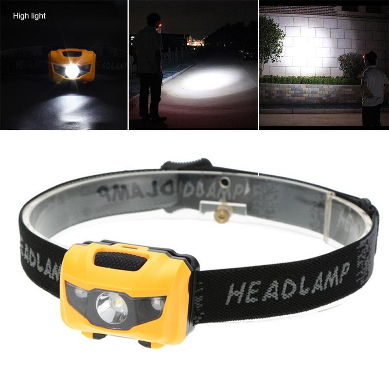 Linterna de cabeza LED de 3 leds, linterna para deportes, linterna de cabeza con carga USB para exteriores, Camping, senderismo, pesca, ajustable