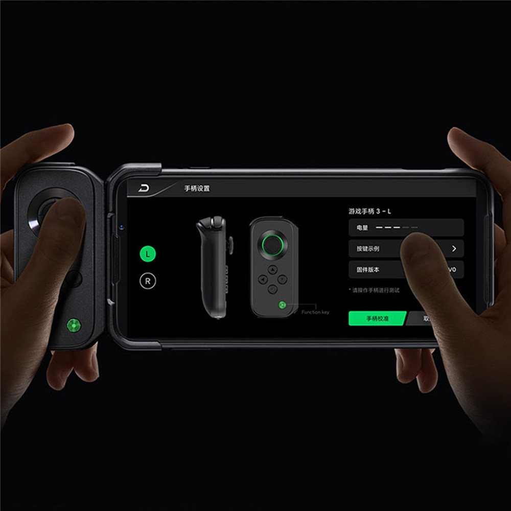 Tragbare Drahtlose Bluetooth Links Gamepad Für Schwarz Shark 3/3Pro Mini Game Controller mit Halter für Universal Telefon Spiele