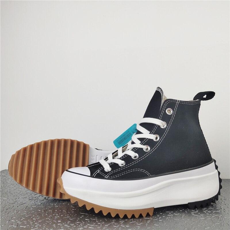 النساء الرجال عالية منصة حذاء قماش أحذية رياضية المدرسة المشي لمسافات طويلة حذاء قصير أحذية عالية الجودة الجديدة