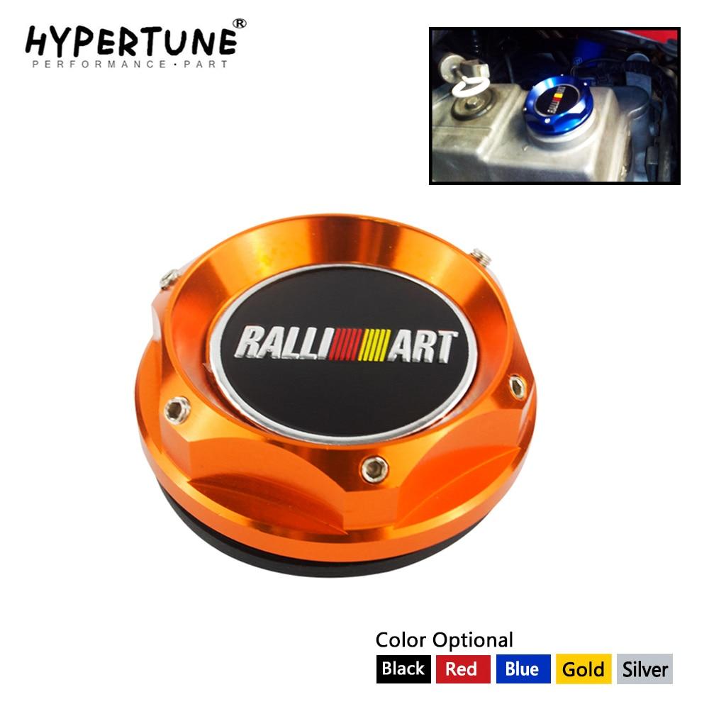 Hypertune - Ralliart Racing Engine Oil Cap Oil Fuel Filler Cover Cap For Mitsubishi HT6315