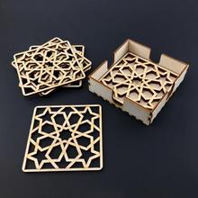 Wooden Coasters Prsonalized Engraving Housewarming Party Coaster Set Anniversary Gift Custom Wood Coaster