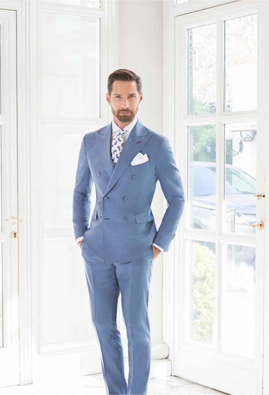 (سترة + بانت + التعادل) وسيم الرجال الزفاف 2 قطعة الدعاوى الذكور يتأهل الدعاوى للرجال زي الأعمال الرسمي حفلة الأزرق البدلات الرسمية