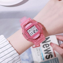 Women's Digital Watches Sport Unisex Men Kids Wrist Watches Fashion Electronic LED Female Clock Gift