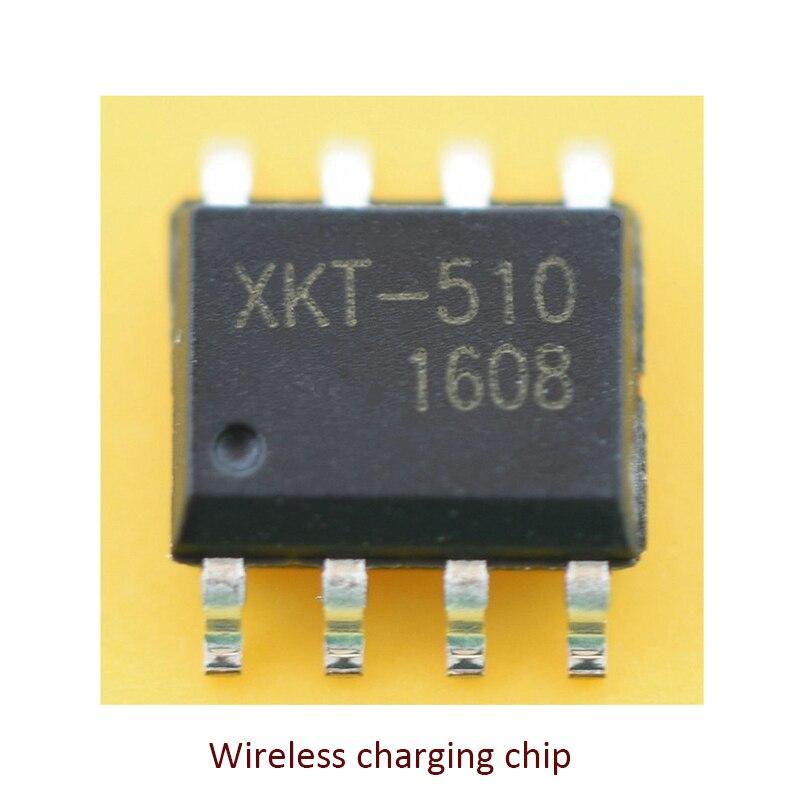 10 unids/lote chip de transmisión de energía inalámbrica XKT-510 chip único fuente de alimentación inalámbrica IC chip de carga inalámbrica