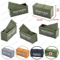 military weapons boxes figures tiny model building block moc ww2 fighting army child christmas gift boy educational boy diy toys