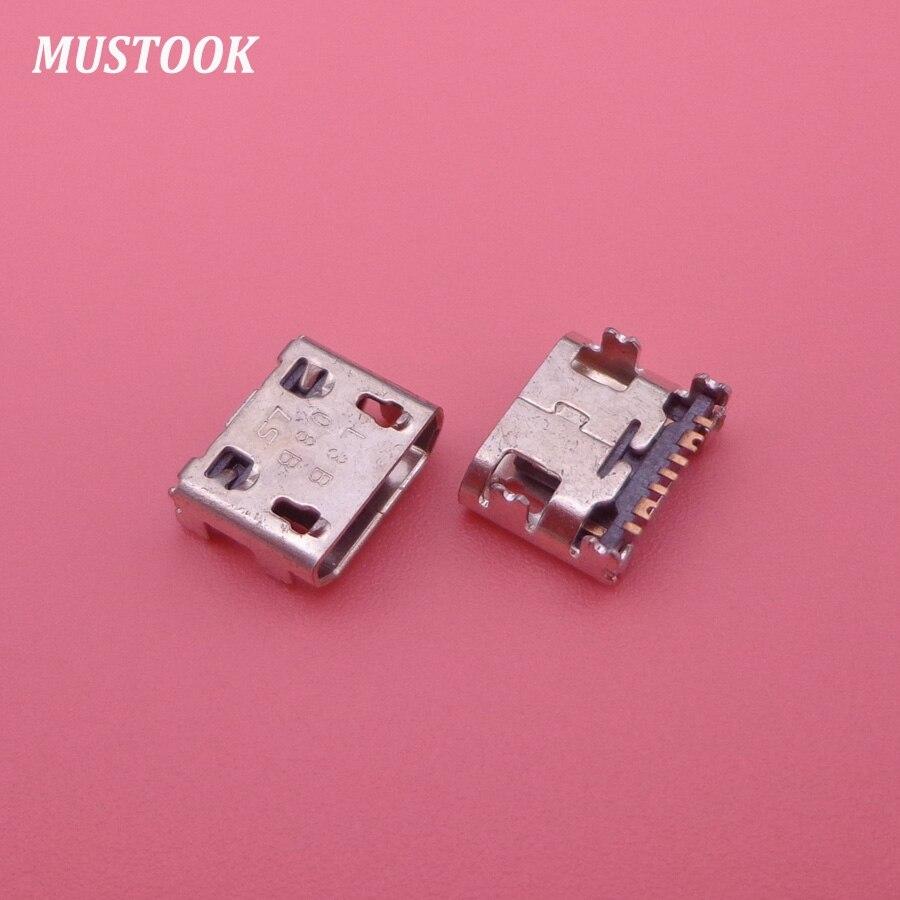 50 Uds para samsung Galaxy tendencia II S5280... S5282 fama S7262... S7710 teléfono celular Micro mini usb toma de carga conector hembra