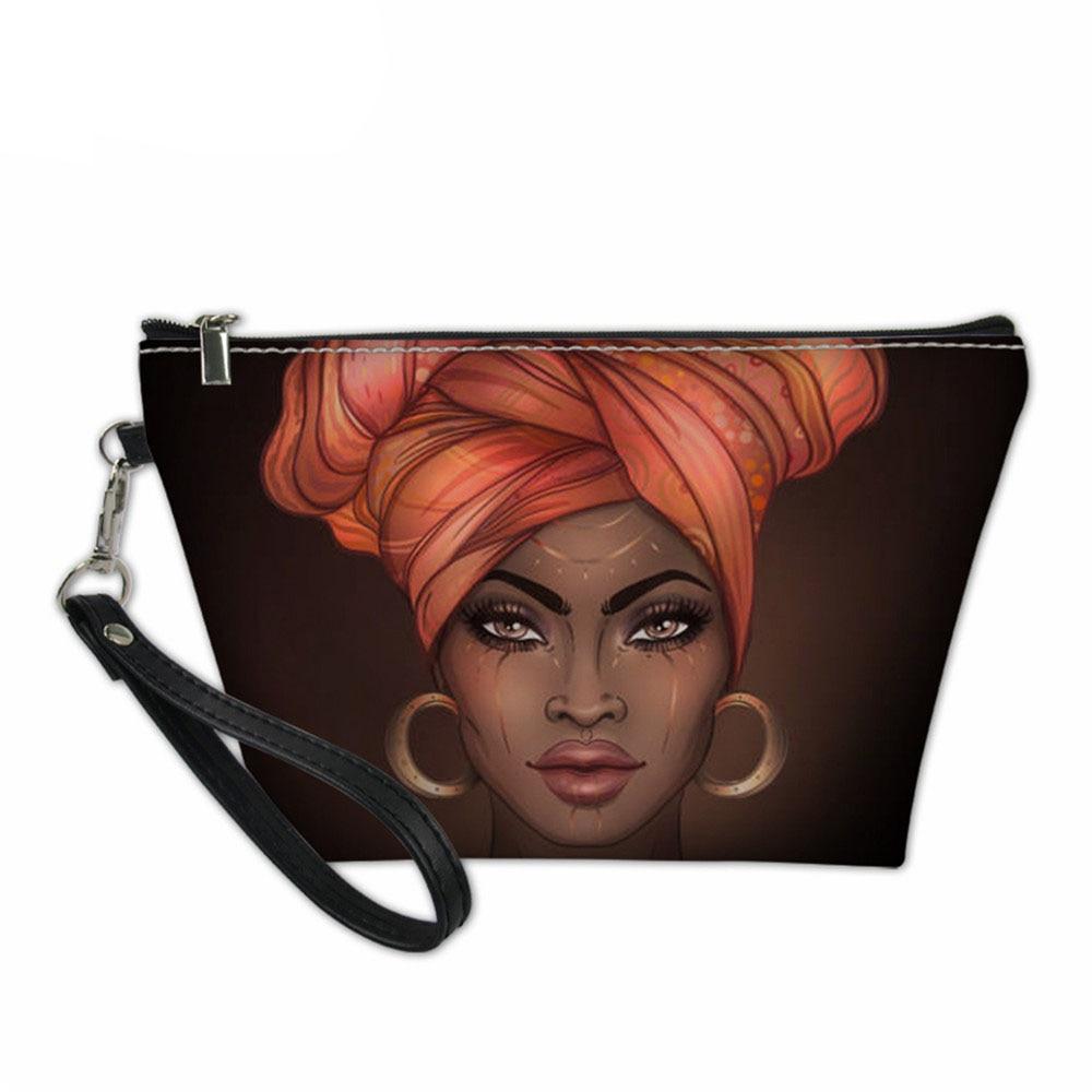 Африканская женская косметичка с узором, модные женские косметички, портативная косметичка для путешествий, женская сумка-тоут для стирки