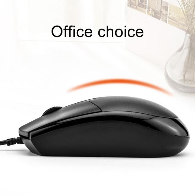 Universal USB Wired Mouse for Business Home Office Gaming Optical 1200DPI Mouse for PC Laptop 1.5M Cable USB Mice 8