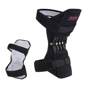 Joint Support Knee Brace Breathable Non-slip Power Lift Joint Support Knee Pads Powerful Rebound Spring Sport Force Knee Booster