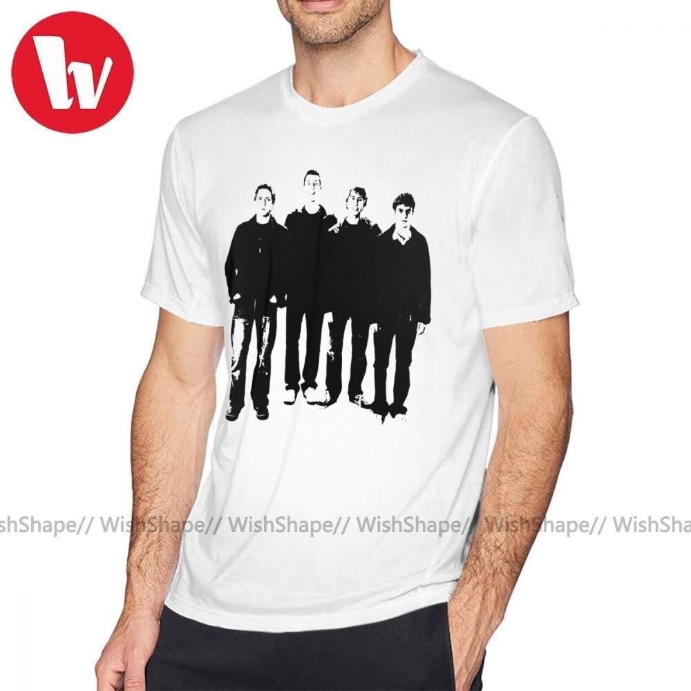 Camiseta Jay Park, camiseta Inbetweeners, camiseta gráfica 100 por ciento de algodón, Camiseta básica de manga corta divertida de talla grande para hombre