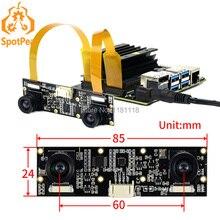 Raspberry Pi IMX219-83 Stereo Camera 8MP Binocular Camera Module Depth Vision for Raspberry Pi CM3/CM3+ NVIDIA Jetson Nnao B01