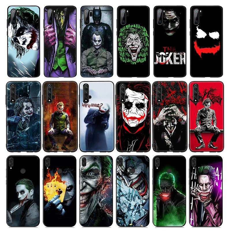 Caballero oscuro del Batman Joker suave de silicona caso para Huawei P30 P20 P10 Lite Pro P Smart Plus 2018 2019 P30 pro P Smart Z