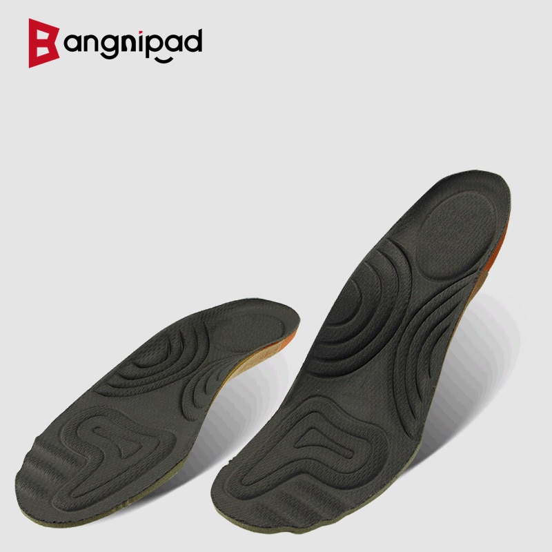 BANGNIPAD Military Training Insoles Anti-pain Sports Shoes Pad Breathable Sweat-absorbent Deodorant Shock Absorption Thickened