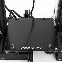 Creality 3D Self-adhesive Build Surface Glass Plate for Ender-3 3D Printer for CR-X/CR-10S Pro/CR-10S Pro V2/CR-10 V2 3D Printer