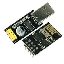 ESP01 программатор адаптер UART ESP-01 адаптер ESP8266 CH340G USB к ESP8266 Серийный беспроводной Wifi Developent Board модуль