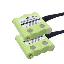2 PCS/LOT BP-38/40 700mAh NI-MH Batterie BT-1013 BT-537 Pour MOTOROLA TLKR T4 T5 T6 T7 T8 GMR FRS Batterie BP40