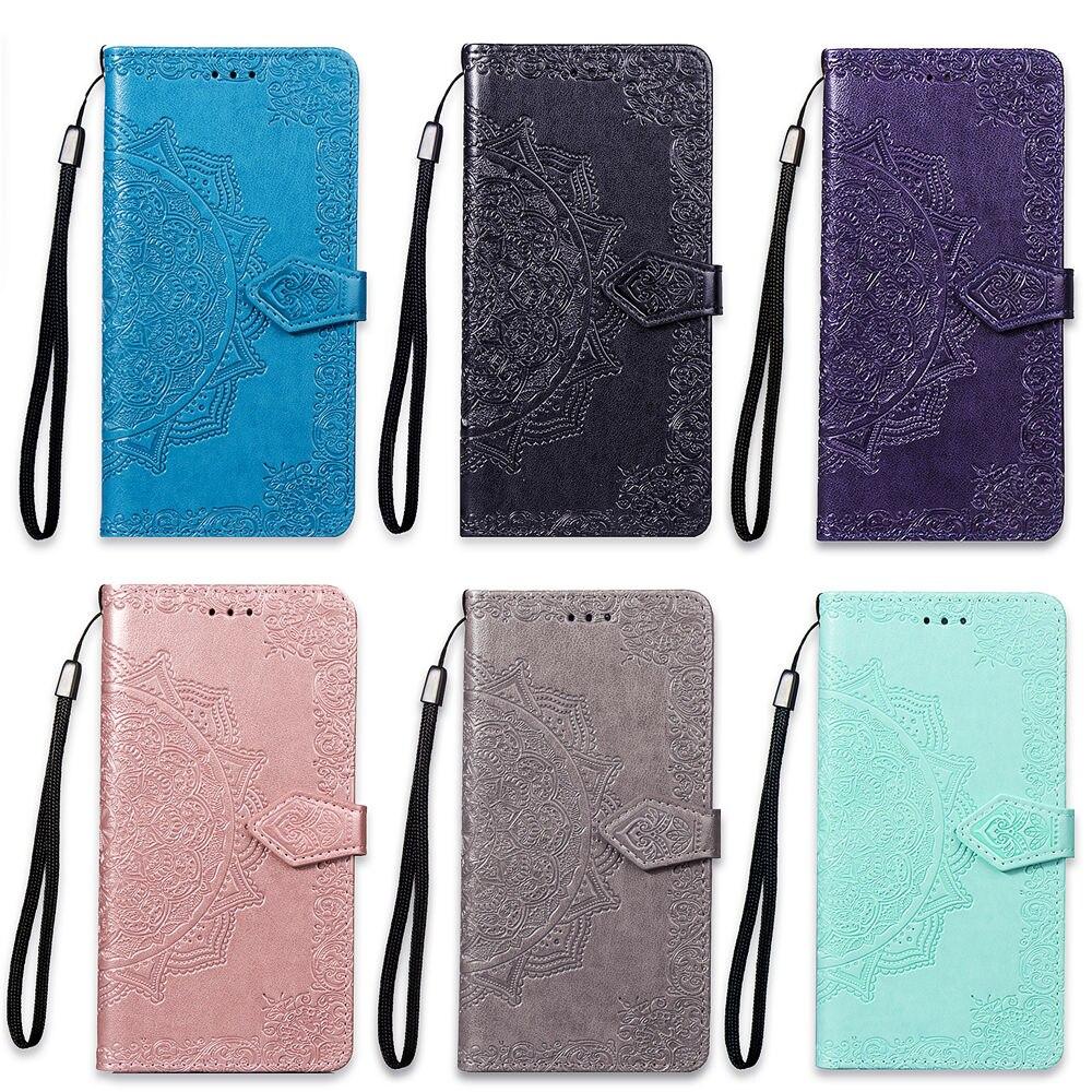 For Xiaomi Redmi Note 7 8 Pro 7A 8A Leather Flip Wallet Book Case For Red MI A3 9 Lite 9T CC9E Redmi K20 Pro Stand Phone Cover