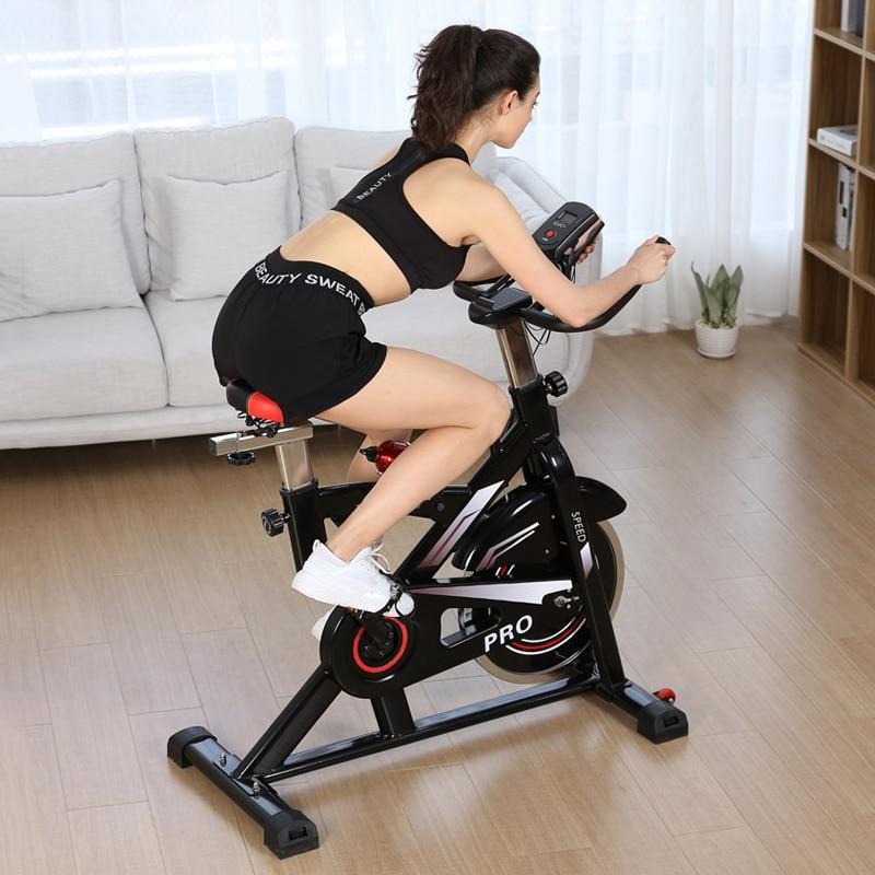 Spinning Bike Smart Ultra-Quiet Type Fitness Equipment Home Upright Spinning Bike Indoor Sports Weig