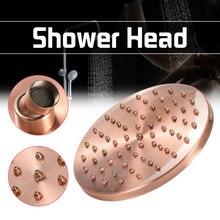 8 inch Runde Vintage Retro Bad Regen Dusche Kopf Antike Rote Kupfer Schlauch Top Dusche Sprayer Bad Einzigen Kopf Werkzeuge