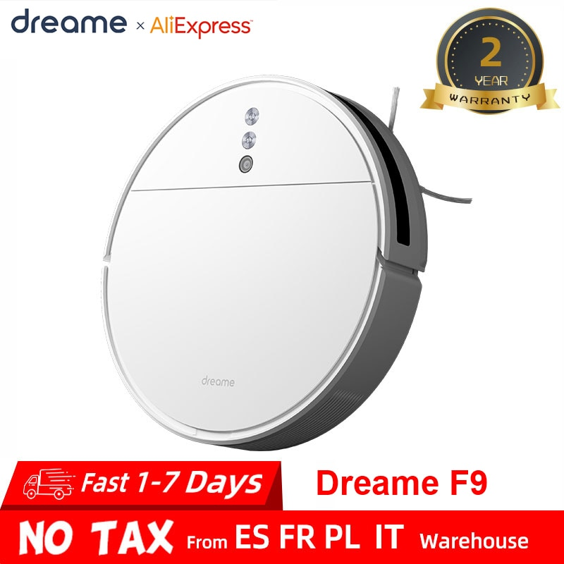 Dreame F9 Robot Vacuum Cleaner 2500Pa strong suction Planned Cleaning Automatically Charge Mop Dust Collector Aspirator for Home