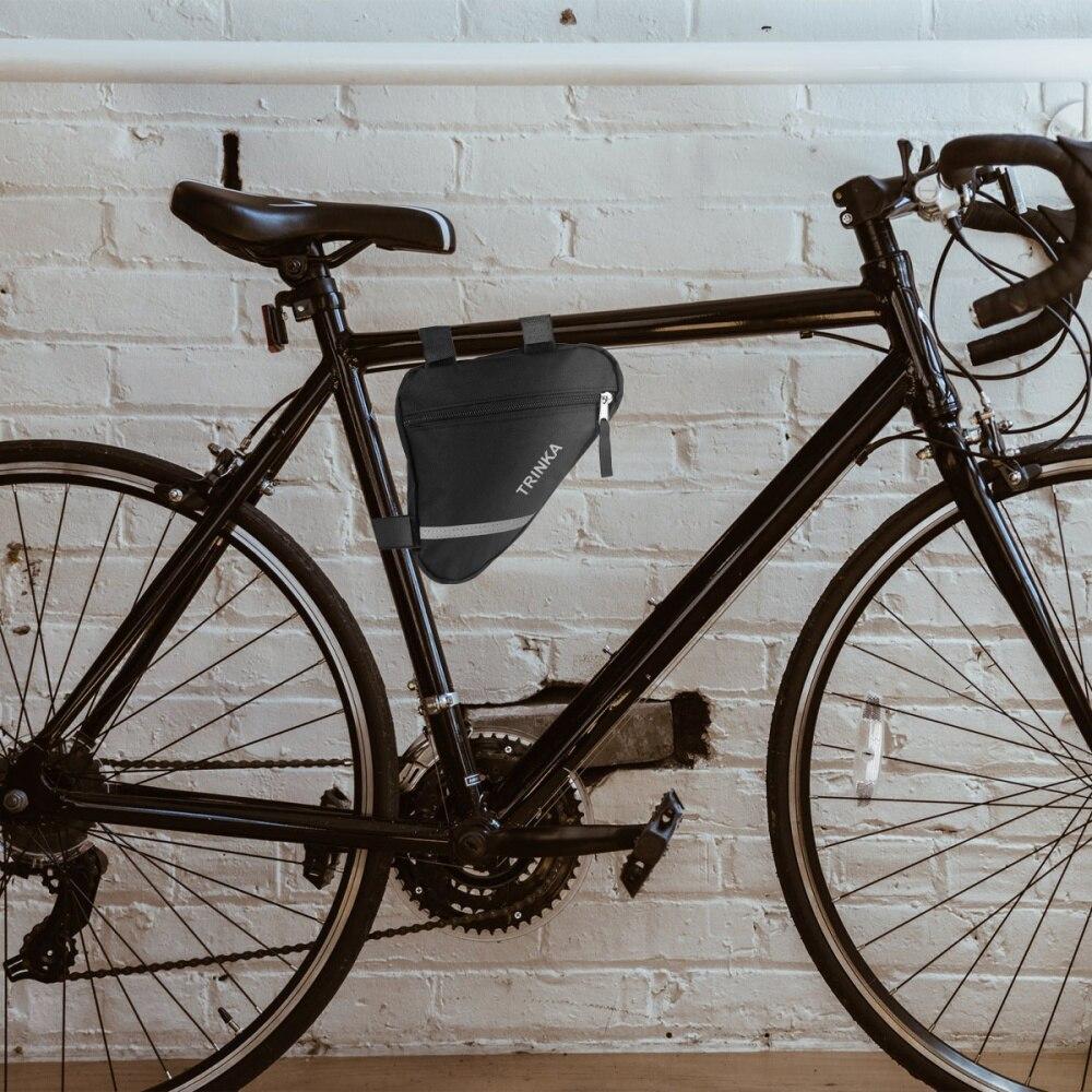 1 bolsa de bicicleta útil, bolsa de Ciclismo de moda, accesorios de bicicleta, paquete de bicicleta, bolsa de barra delantera para bicicleta, suministros de ciclismo para exteriores
