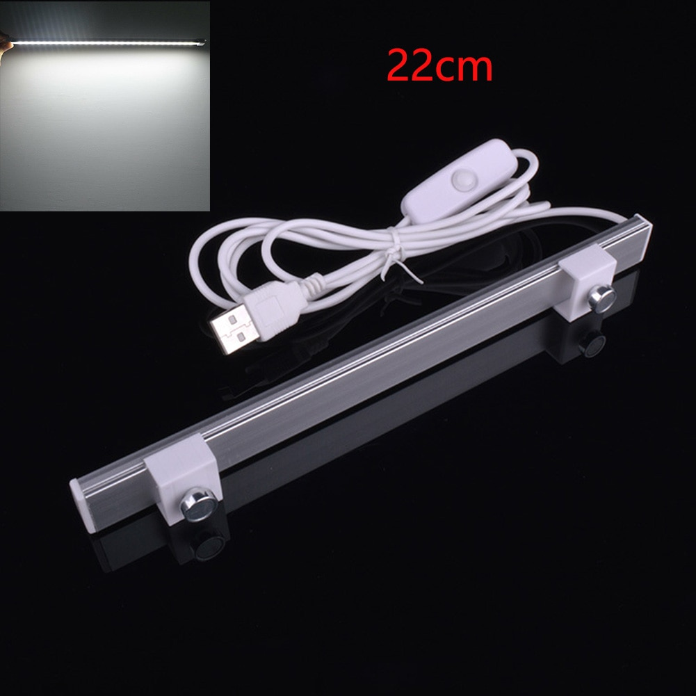 5 в автомобильная светодиодная мастерская USB жесткая панель для чтения настольная Затемняющая стена супер яркий клей двойной Магнитный све...