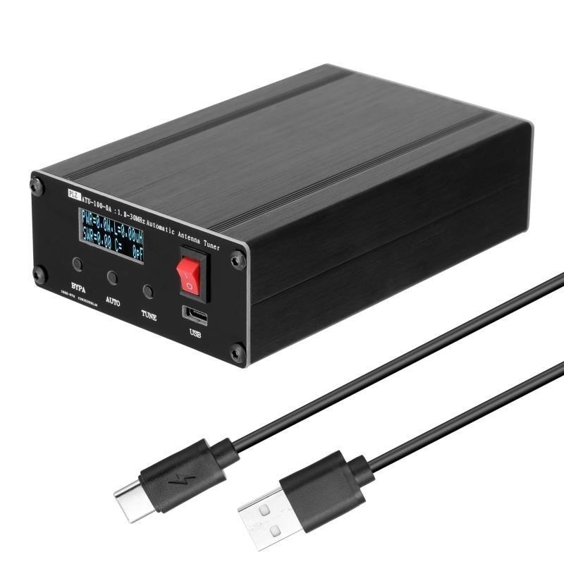 Automático da Liga de Alumínio do Sintonizador da Antena de Tzt Atualizada para Atu-100 Escudo Versão Atu-100-0a 1.8-30mhz