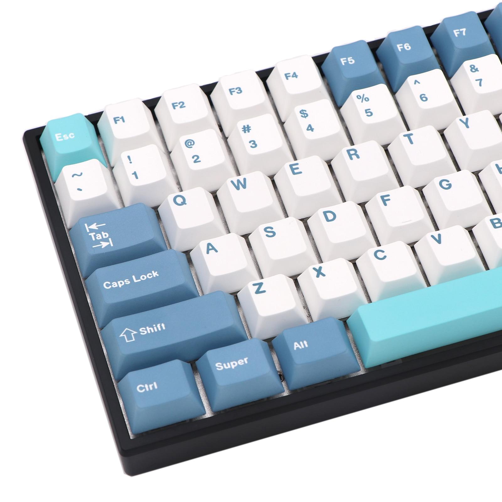 Keypro Whistle Keycaps 136Keys&149keys Dye Subbed Cherry Profile Keycaps For Wired USB mechanical keyboard Cherry MX switch