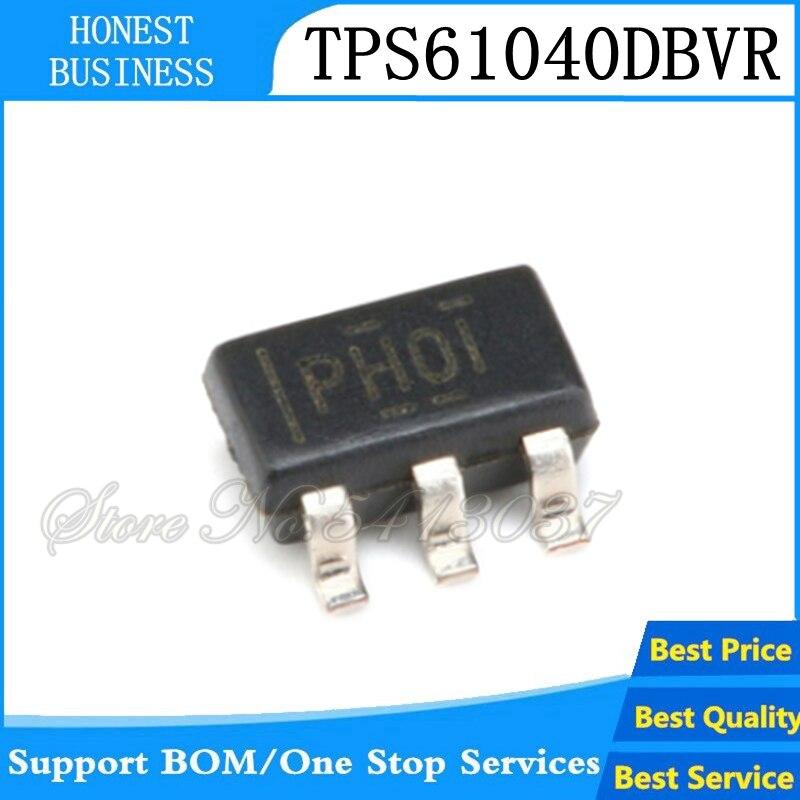 20 piezas TPS61040 SOT23-5 Conv DC-DC 1,8 V a 6V a-1,8 V a 28V 0.4A 5-Pin SOT-23 TPS61040DBVR