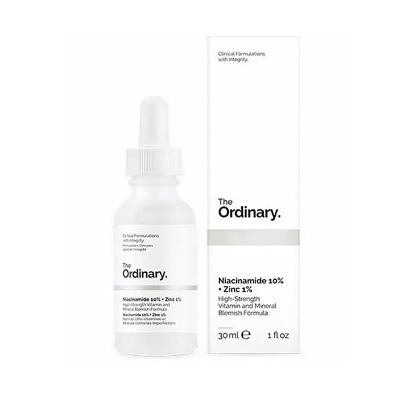 30 мл обычный Niacinamide 10% + Цинк 1% Сыворотка для лица баланс масла уменьшает пятна кожи отбеливающий увлажняющий крем