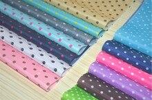 190T Polyester Taffeta PU coated dot  printing Waterproof cloth DIY sewing umbrella tent fabric breadth 150cm