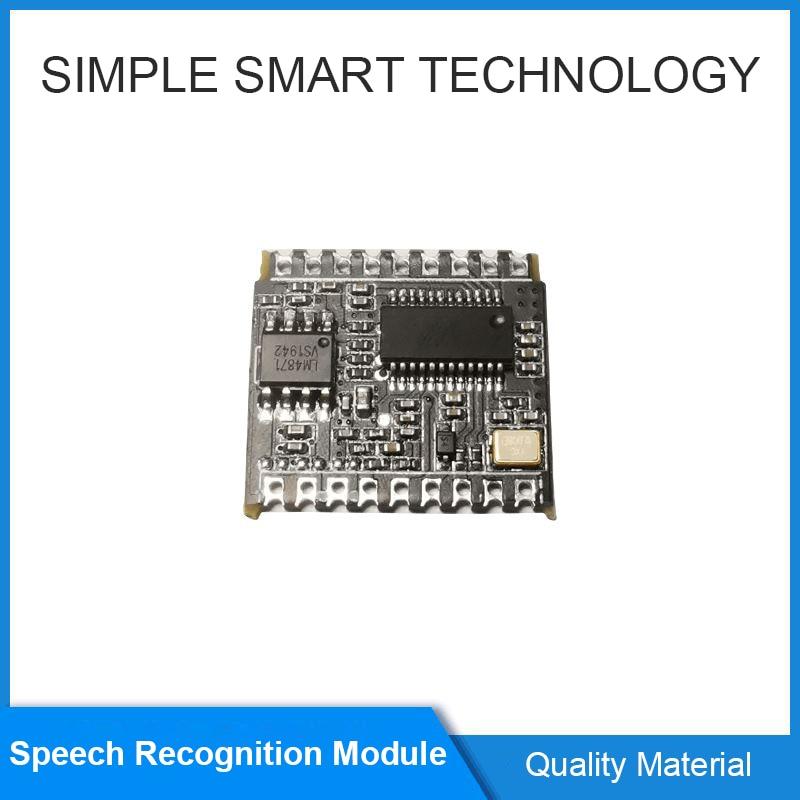 21012016 Voice Recognition Offline Control Module AI Intelligent Can Customize Entries