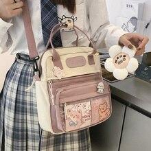 Korean Style Cute Mini Backpacks Women Waterproof Nylon Small Shoulder Bags for Teenage Girls School