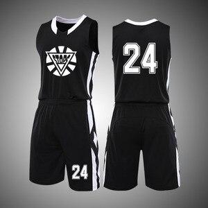 Latest New Basketball Jerseys Top Quality kids Child Youth Basketball Jerseys Uniforms College Mens Basketbal Shirts Shorts Set