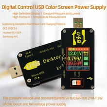 XY-UDP cyfrowy USB DC konwerter DC CC CV 0.6-30V 5V 9V 12V 24V 2A 15W moduł zasilania pulpit regulowany zasilacz regulowany
