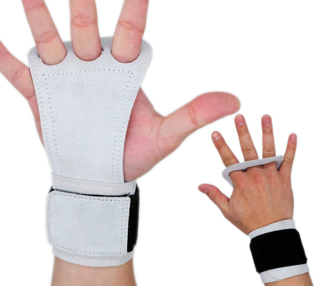 AliExpress - Natural Leather Hand Grips Crossfit for Women Men Palm Protector for Pull-ups Lifting Gymnastic Crossfit Gloves with Wrist Wrap