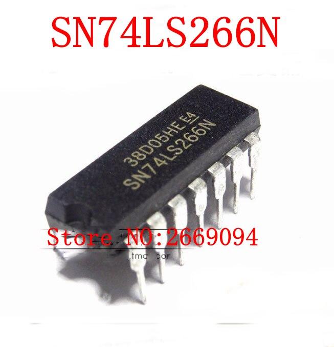 5 шт./10 шт. Бесплатная доставка SN74LS266N 74LS266N HD74LS266P HD74LS266 74LS266 74LS266P DIP-14 Новинка