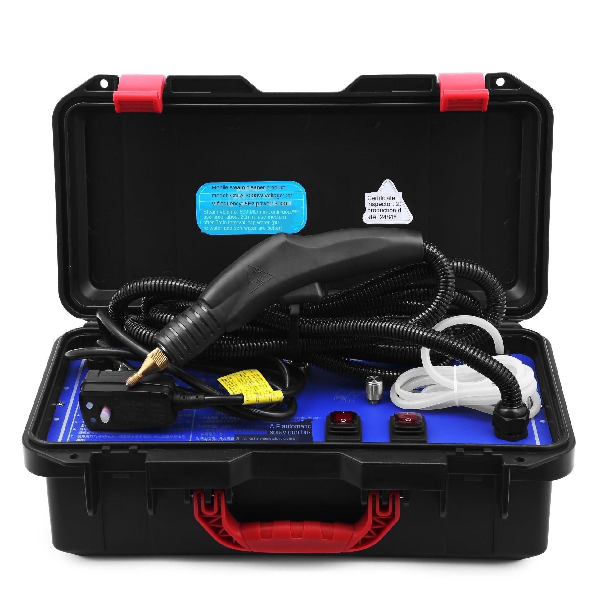 جهاز تنظيف بالبخار عالي الحرارة جهاز تنظيف بالبخار متعدد الوظائف جهاز نظافة بالبخار 220 فولت أداة يدوية قطع غيار منزلية