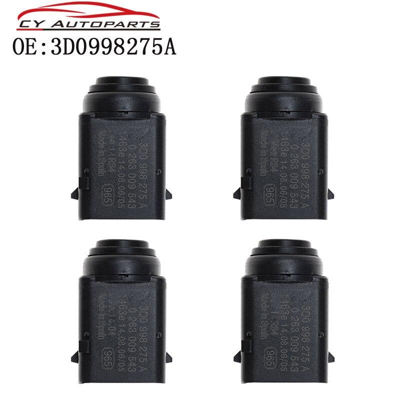Yaopei 4pcs sistema de sensor estacionamento para skoda vw bora eos golf jetta touareg porsche cayenne 3d0998275a