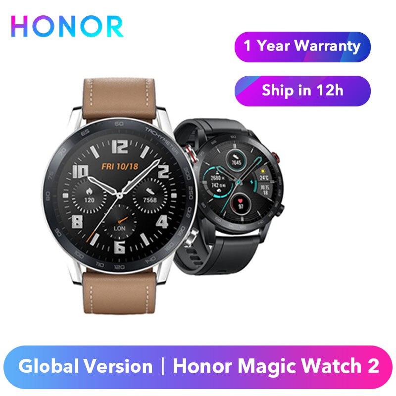 Original Honor Magic Watch 2 Smart Watch Global Version 42mm / 46mm Honor Magic 2 Spo2 Blood Oxygen