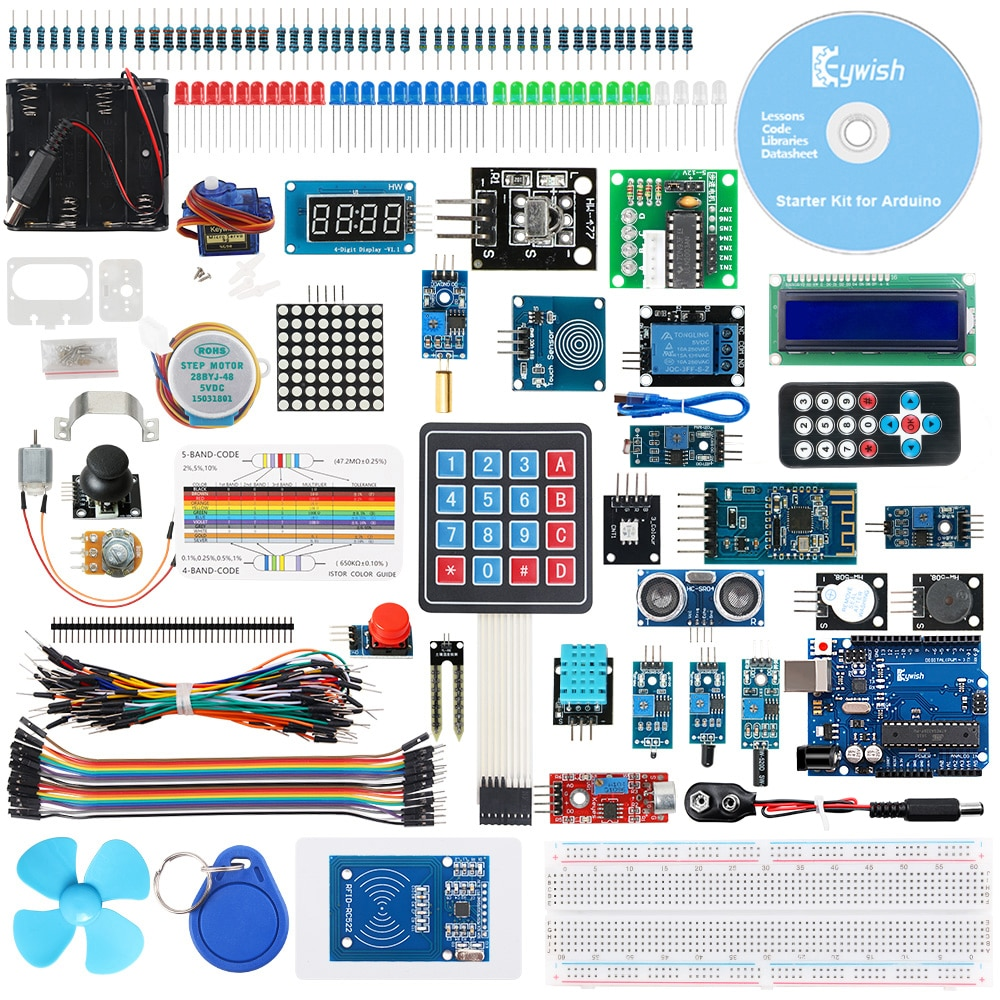 Стартовый набор Keywish RFID для Arduino UNO R3, с �