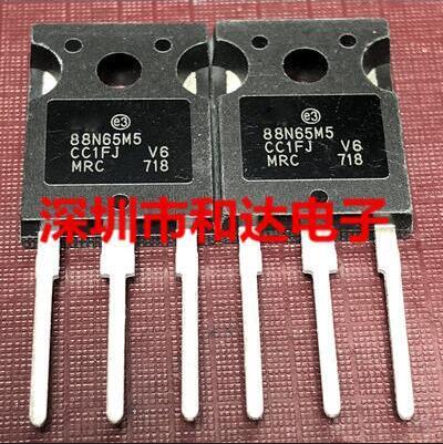 Envío gratis 10 piezas 88N65M5 STW88N65M5-247 650V 84A
