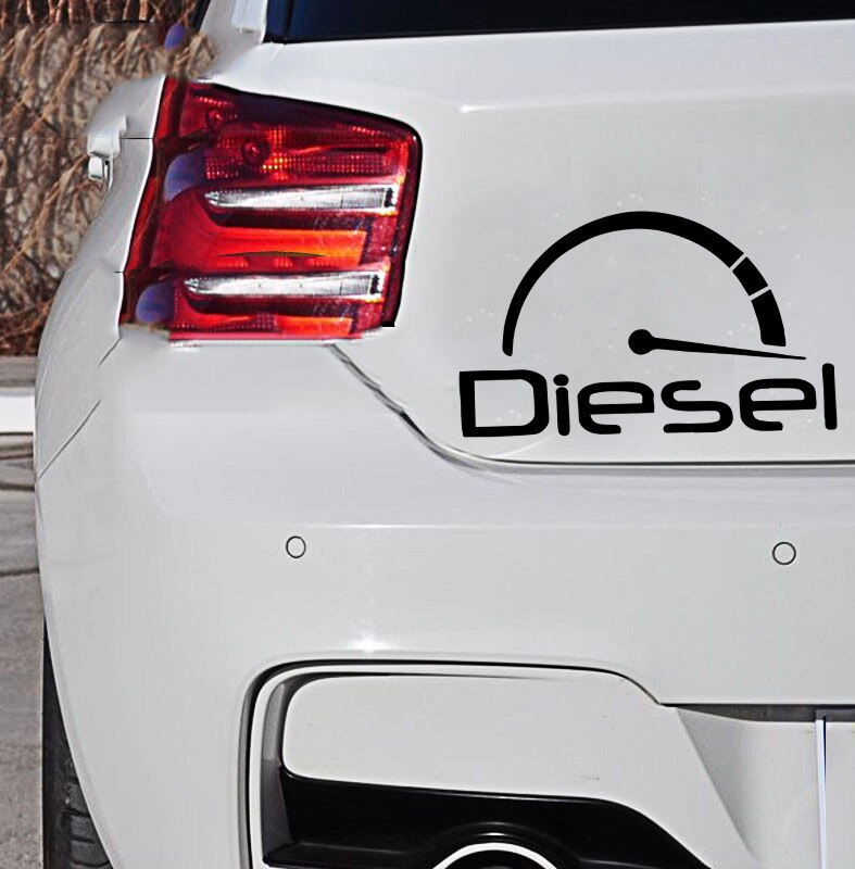Новые дизельные виниловые наклейки на окна, виниловые художественные узоры, водонепроницаемые наклейки для кузова автомобиля 2 шт виниловые наклейки на окна для автомобиля